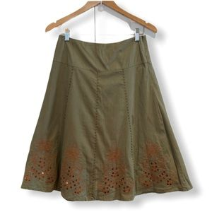 Sequin detail skirt